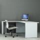silla y escritorio home office